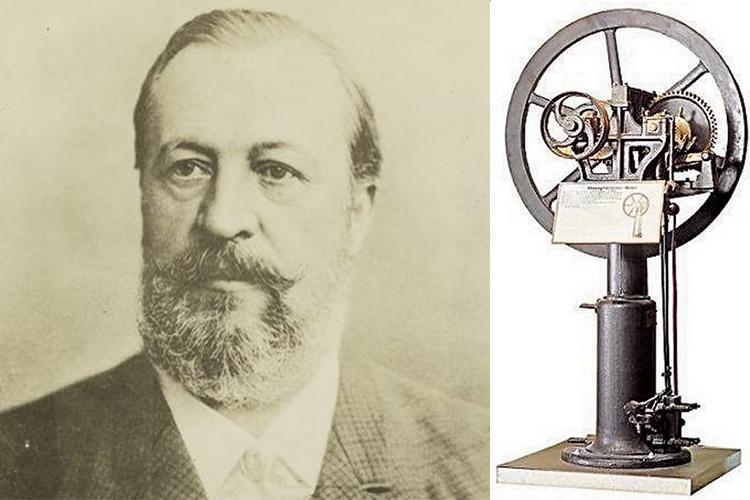 Nikolaus Avgust Otto - Первый в мире автомобиль