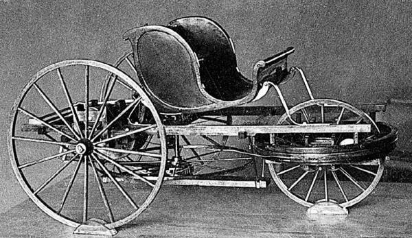 povozka Kulibina - Первый в мире автомобиль