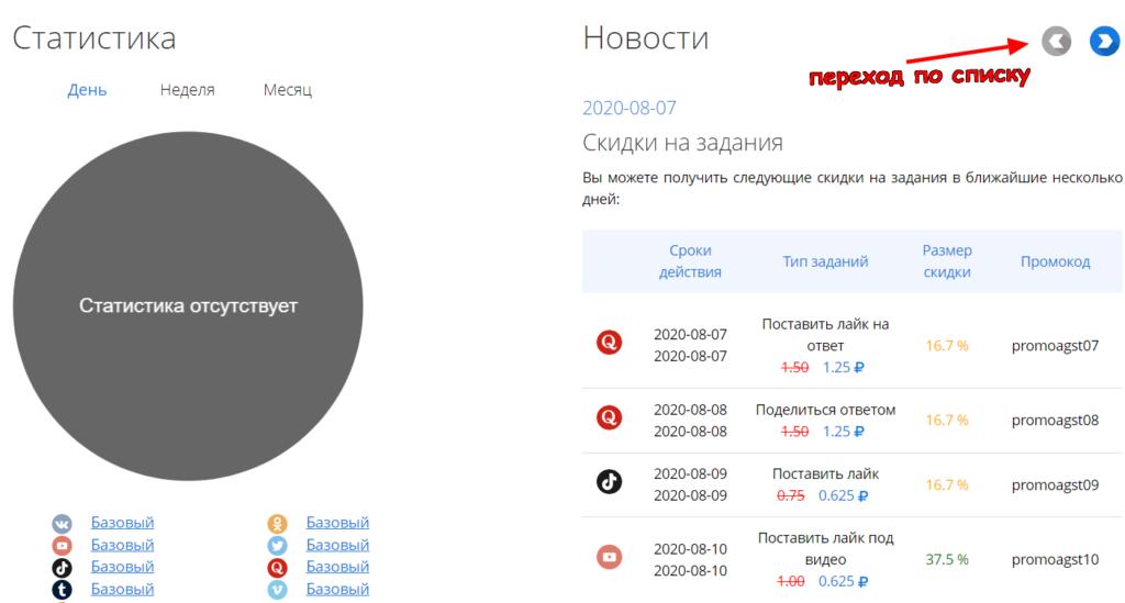 skrinshot 6 vktarget.ru  1024x549 - VKtarget Заработок в социальной сети